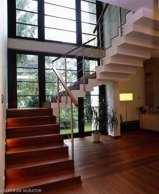 Rodzaje schodów: schody trójbiegowe