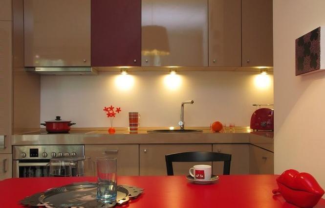 Oświetlenie blatu w kuchni