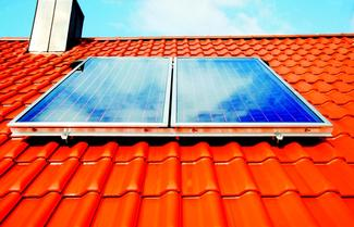 Kolektory na dachu o odpowiednim kącie nachylenia połaci
