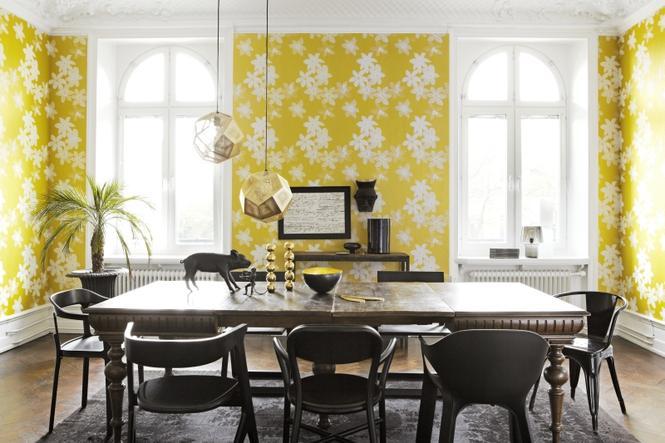 Tapety 2012: modne żółcienie