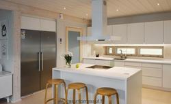 ZDJĘCIA Z REALIZACJI DOMÓW: ładny drewniany dom dla lubiących proste rozwiązania