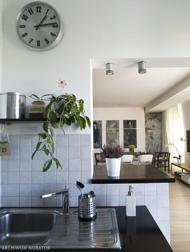 Zegary ścienne do kuchni  8 propozycji zegarów kuchennych  Kuchnia  Murato  -> Kuchnia Amica Zegar