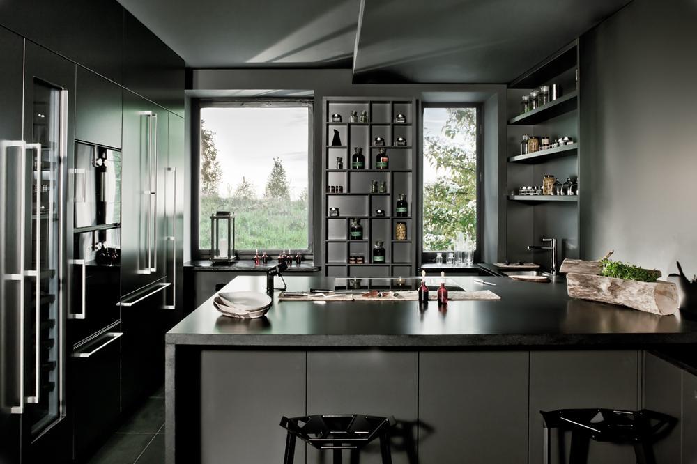 Galeria zdjęć  Szara kuchnia nowoczesna i elegancka   # Kuchnia Szara Galeria