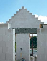 Ściana szczytowa z silikatów