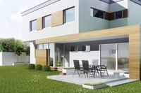 Designerskie okna dla budownictwa energooszczędnego - duże przeszklenia, niewidoczne profile