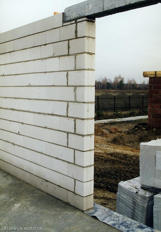 Zewnętrzna ściana silikatowa