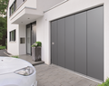 Brama garażowa uchylna, boczna, rolowana czy segmentowa? Wybierz bramę odpowiadającą twoim potrzebom