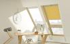 Okno o podwyższonej osi obrotu z naświetlem dolnym FDY – V Duet proSky
