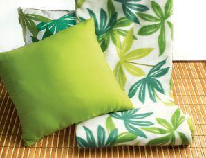 Poduszki z egzotycznym motywem