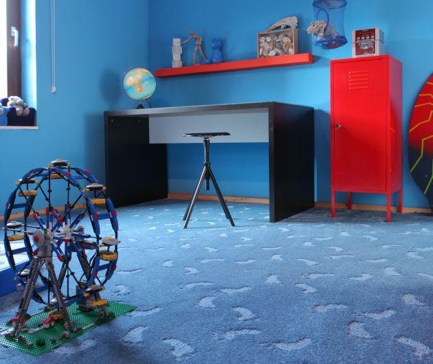 Kolorowe wykładziny do pokojów dziecięcych