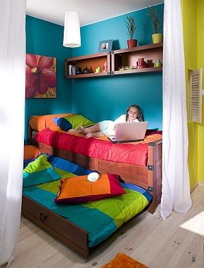 Pokoje dla dzieci. Jak zamienić 12 mkw. w wygodny pokój dla rodzeństwa?